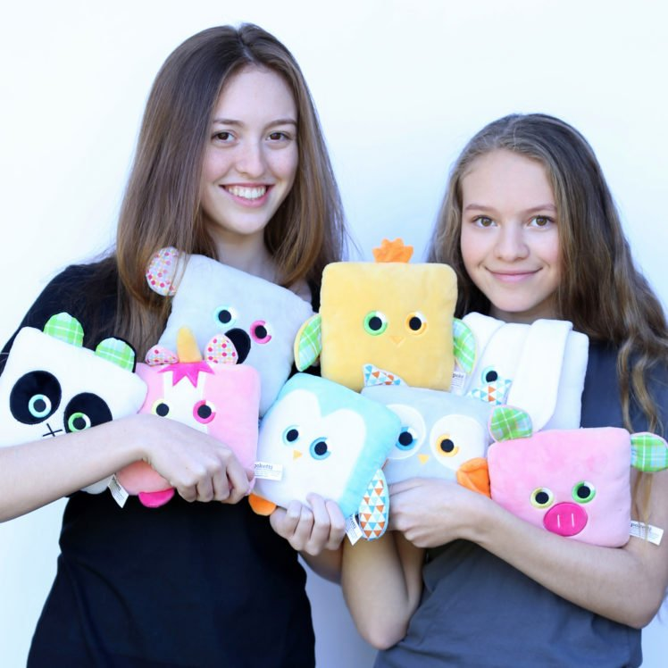 Sydney and Toni Loew of Poketti Plushies®