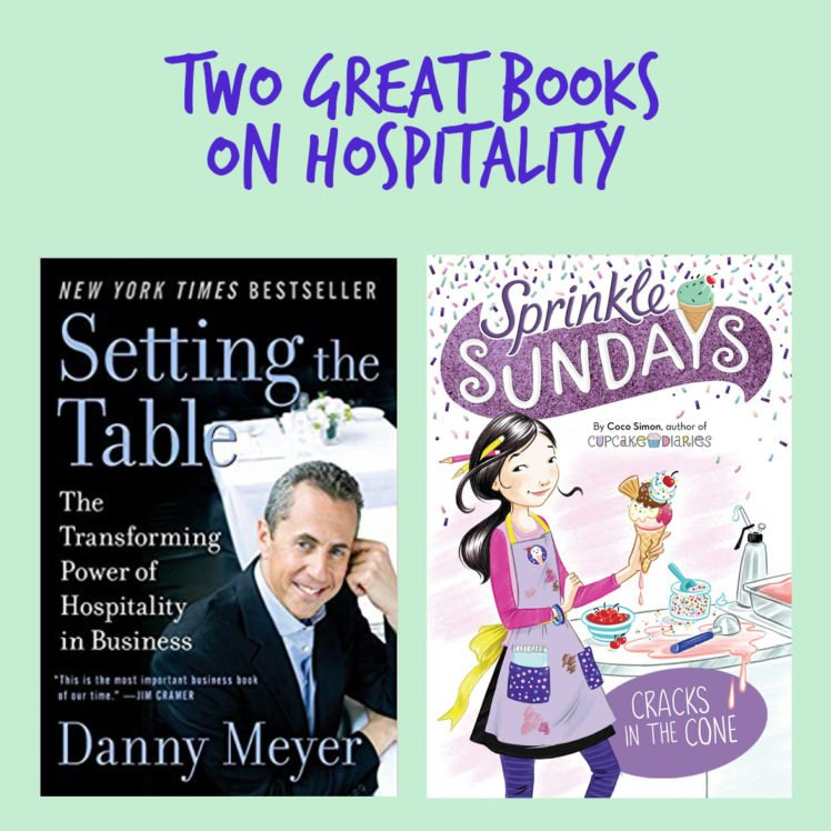 Sprinkle Sundays and Danny Meyer Setting the Table Book Reviews