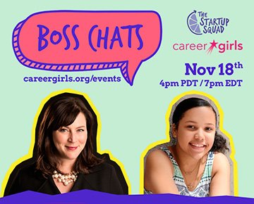 Career Girls Two Generations of Female Entrepreneur Webinar Series